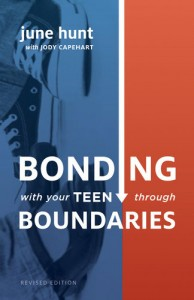 Bonding With Your Teen Through Boundaries book cover